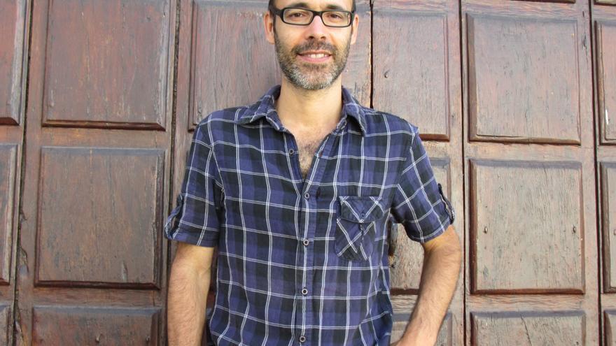 Gaby Martínez se encuentra en La Palma para realizar un reportaje sobre los miradores literarios. Foto: LUZ RODRÍGUEZ
