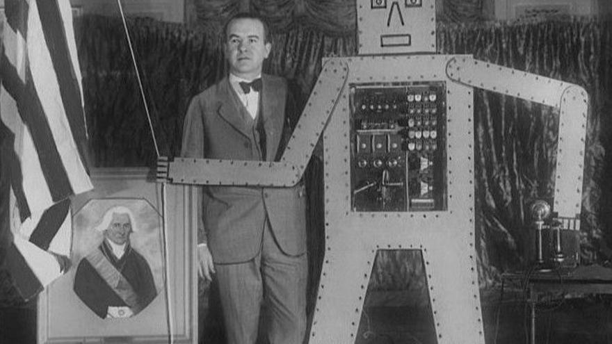 Televox, el robot de Westinghouse Electric en los años 20