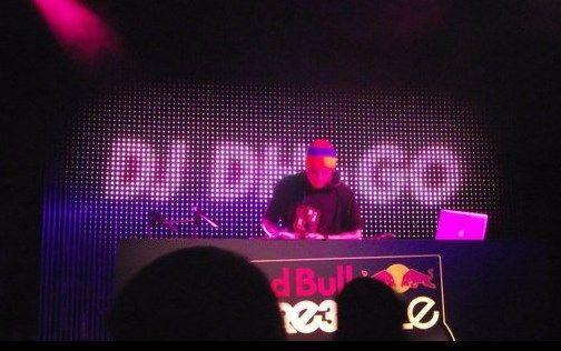 DJ Dagho, en una actuación
