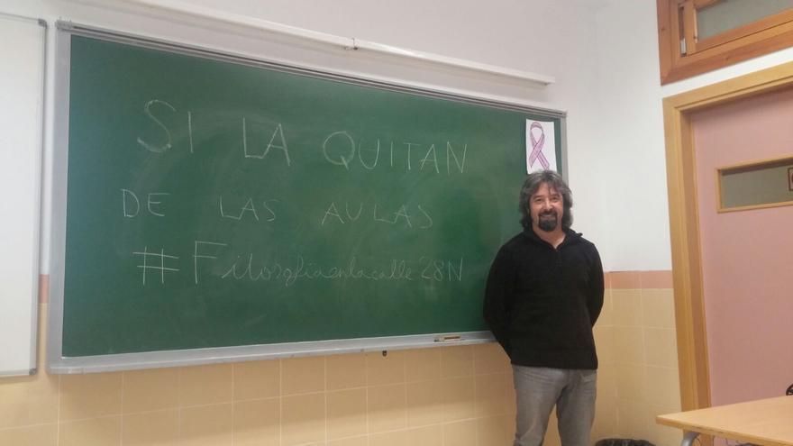 Ángel Vallejo, profesor de instituto y miembro de la Red Española de Filosofía