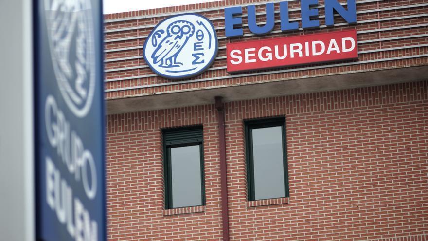 Sede del Grupo Eulen en Madrid (España), a 12 de febrero de 2020.