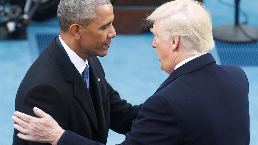 Las fotos de Obama, una curiosa réplica a las políticas de Trump