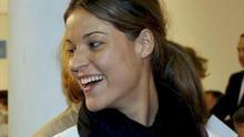 María, la hija del expresidente de la Generalitat Eduardo Zaplana