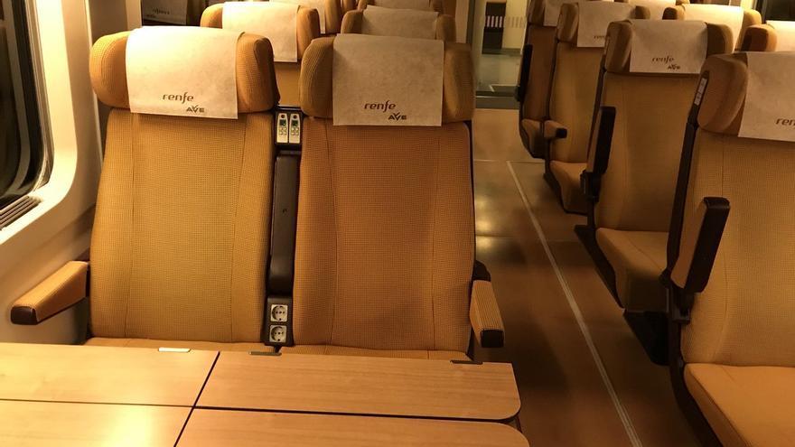 Imagen del vagón fotografiado por el diputado Artemi Rallo