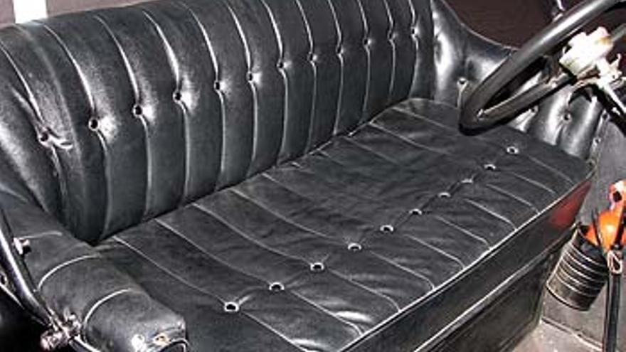 Así eran los asientos del centenario Ford T.
