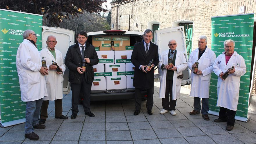 Reparto de alimento de Cipriano en Toledo