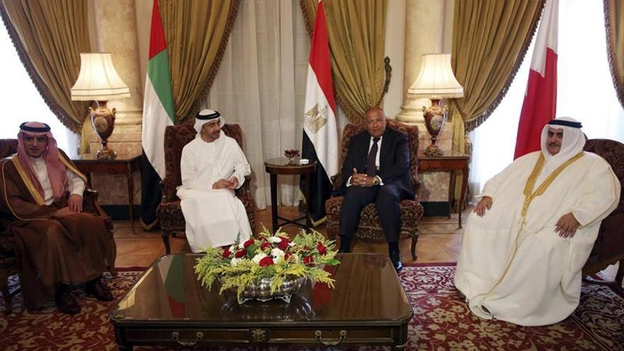 El cuarteto árabe estudiará nuevas medidas contra Catar si no cambia su postura