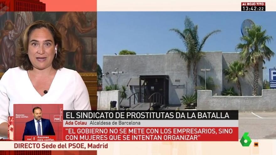Ada Colau en Al Rojo Vivo