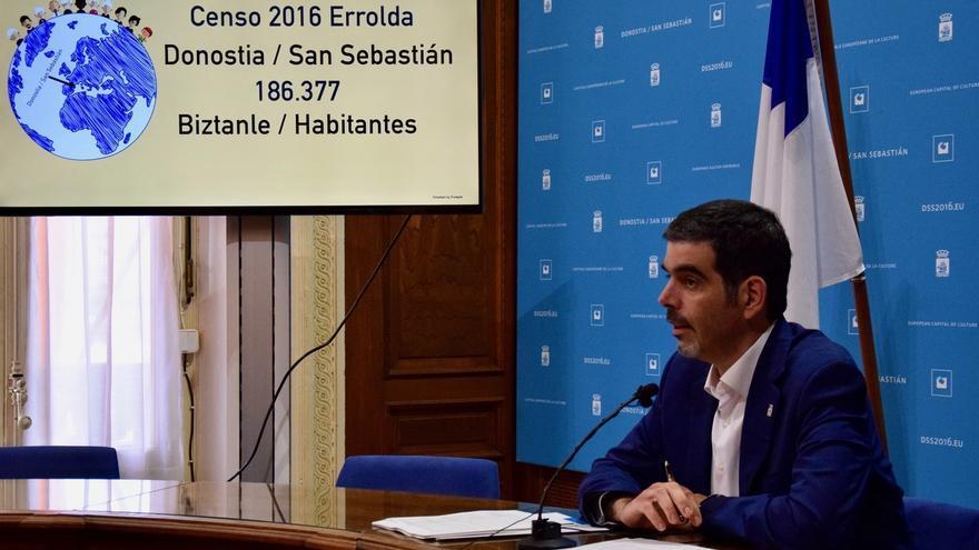 San Sebastián cerró 2016 con 186.377 habitantes y 130 nacionalidades distintas conviviendo en la ciudad