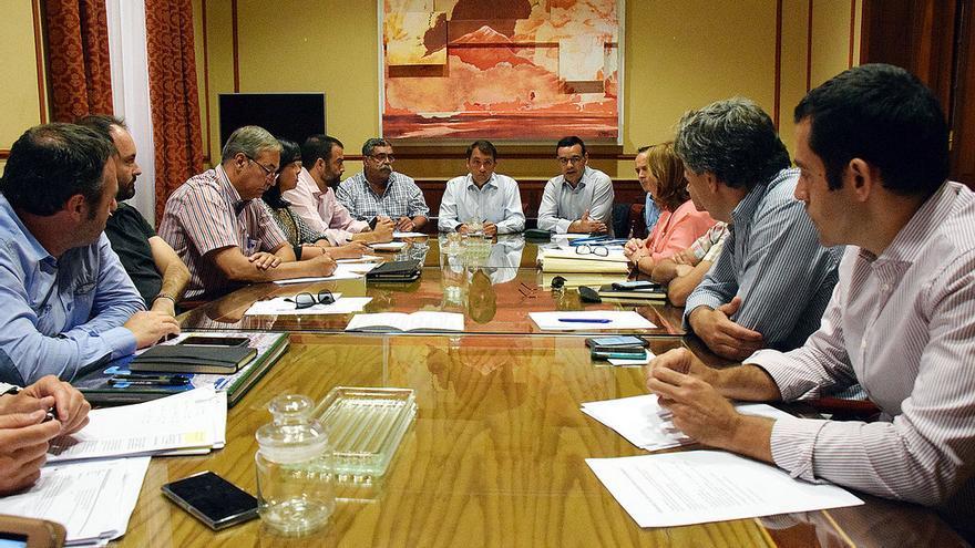 Reunión entre Ayuntamiento y Puerto