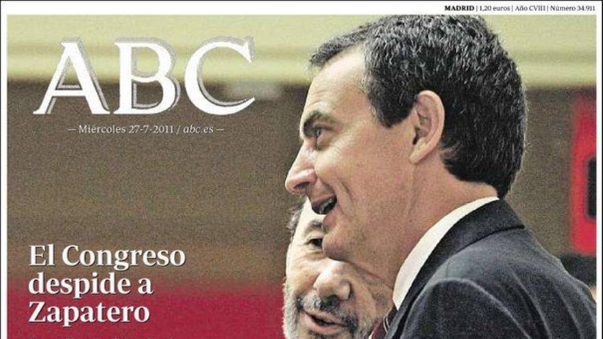 De las portadas del día (27/07/2011) #6