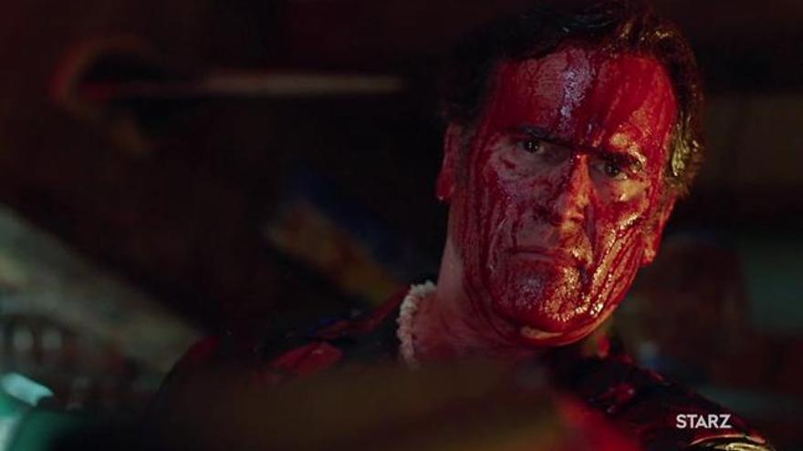 'Ash vs Evil Dead' calienta motores para su segunda temporada con patriótico póster