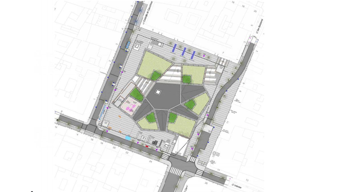 Nueva distribución de la Plaza de Pedro Zerolo | AYUNTAMIENTO DE MADRID