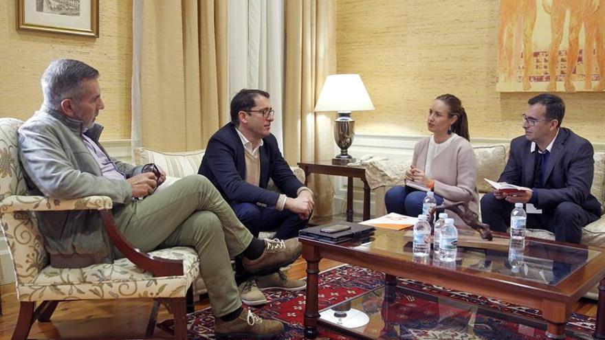 José Miguel Rodríguez Fraga, Iñaki Lavandera, Melisa Rodríguez y Mariano Cejas. EFE/Cristóbal García
