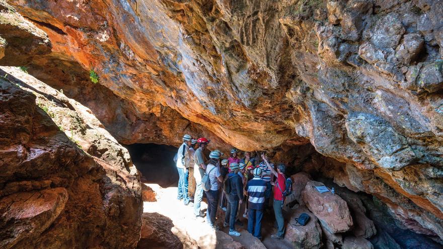 Cueva de Montesinos. Osa de Montiel (Albacete) FOTO: Turismo Castilla-La Mancha