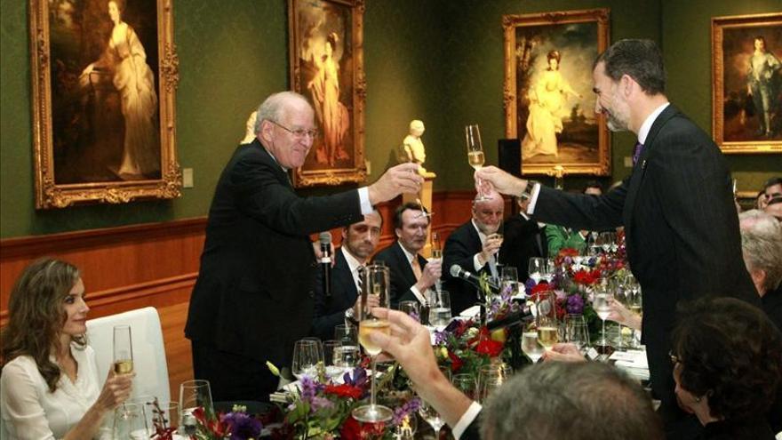 El Príncipe Felipe destaca la aportación hispana a la identidad de los EE.UU.