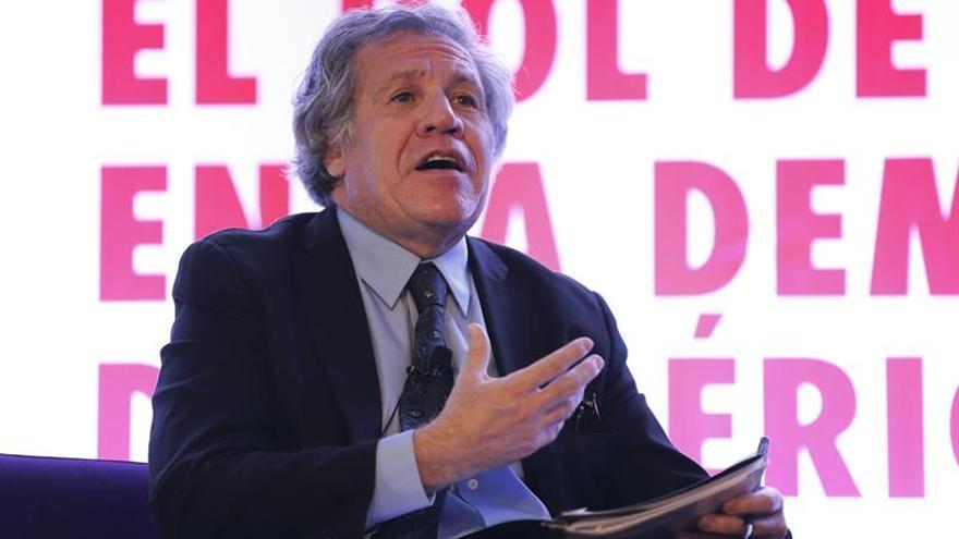 """Almagro aboga por aplicar sanciones """"cada vez más duras"""" a Venezuela"""