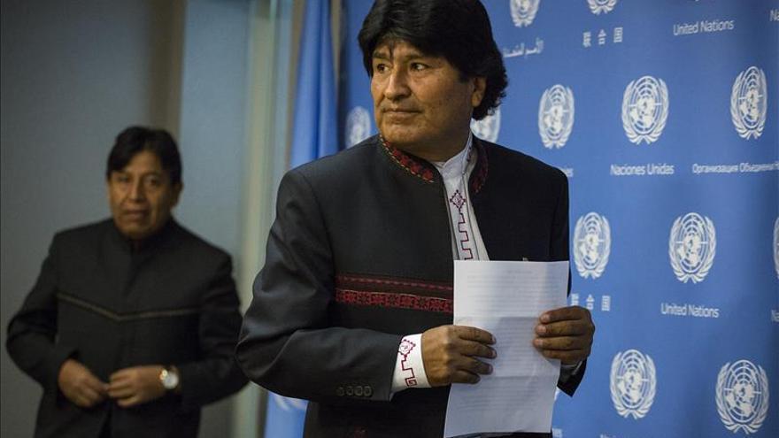 Evo Morales insiste en buscar el diálogo con Chile sobre la demanda marítima