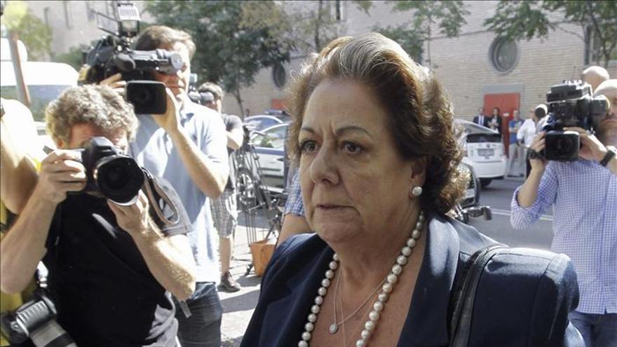 """Barberá dice estar """"ojiplática"""" por operación contra la corrupción municipal"""