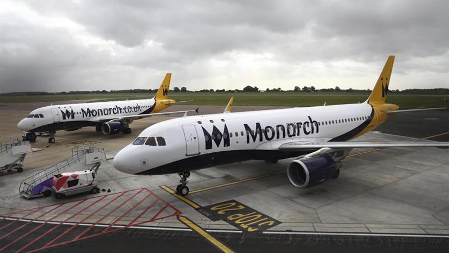 La quiebra de Monarch deja en Menorca un agujero de más de 800.000 euros