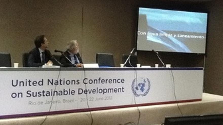 El Ministro De Medio Ambiente Interviene En Río+20