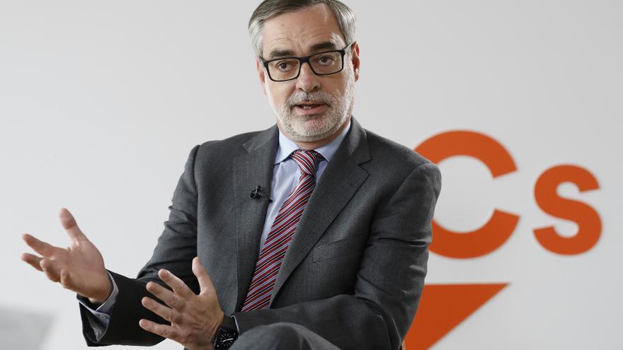 El secretario general de Ciudadanos, José Manuel Villegas. / Marta Jara