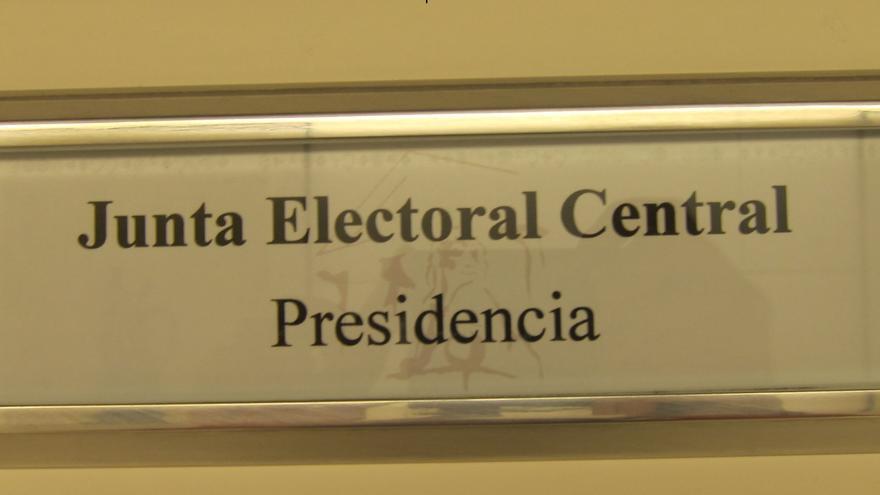 Junta Electoral Central, su sede en el Congreso