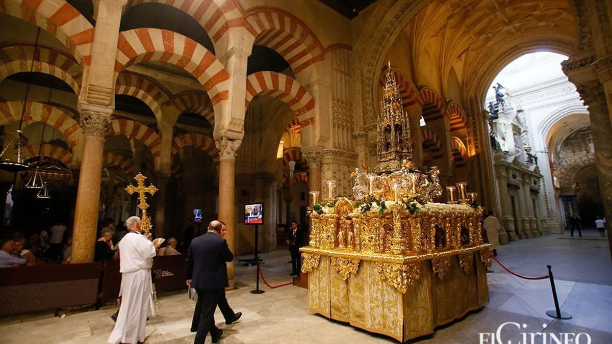 Procesión del Corpus Christi en 2019