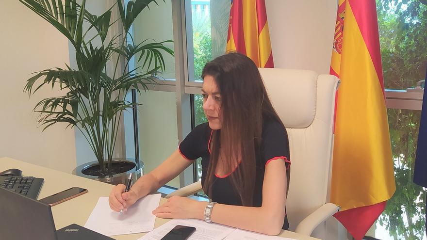 La consellera de Universidades, Carolina Pascual