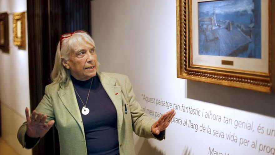 Maya Picasso recuerda el paso de su padre por A Coruña