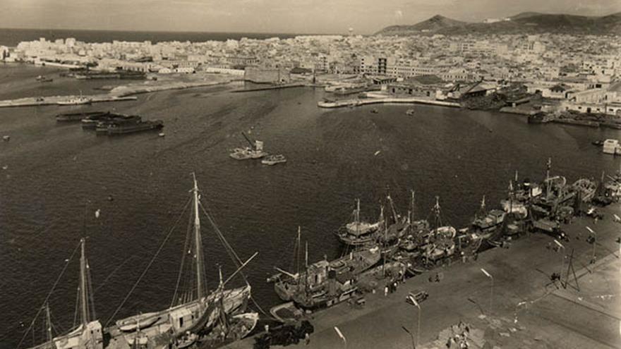 Ciudad de Las Palmas de Gran Canaria. Archivo de la Fedac.