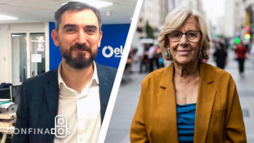 Ignacio Escolar charlará este miércoles 8 de abril con Manuela Carmena
