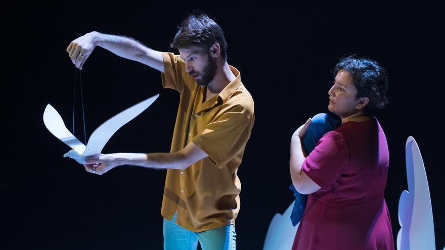 'Periplo', una producción de La Aye cía, llegó al Teatro Circo de Murcia el pasado viernes 28 de junio