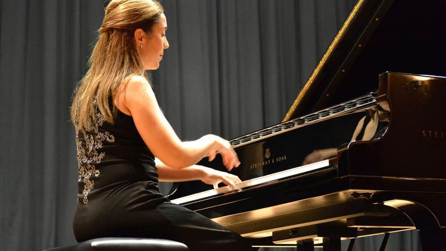 La pianista Miriam Gómez Morán actuará este viernes en el Circo de Marte.
