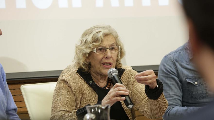 """Carmena no habla sobre Vistalegre II porque """"todas las cadenas ya tienen buenos comentaristas políticos"""""""