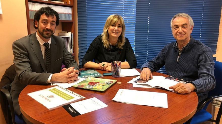 Ollo comparte con el presidente de la Asociación 11-M las principales líneas de trabajo del Gobierno de Navarra