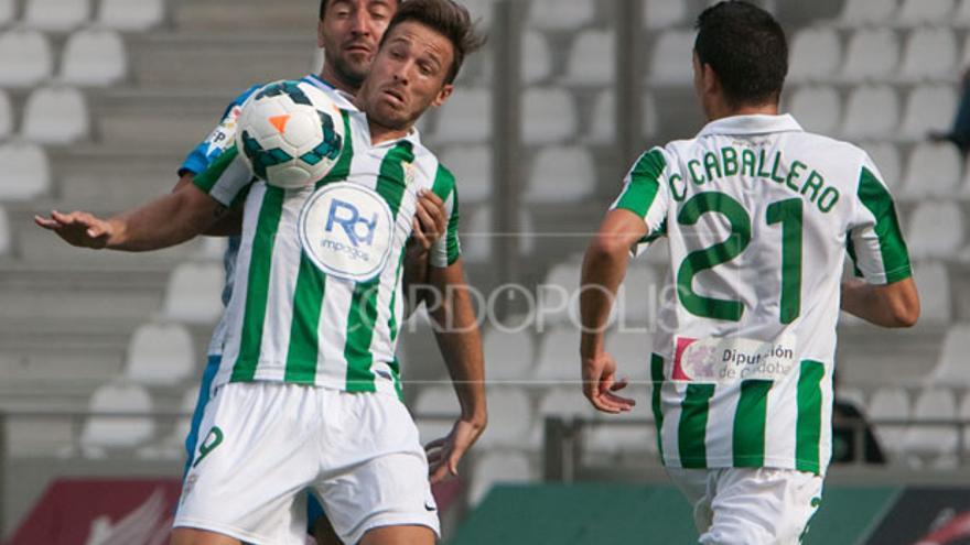 Xisco, jugador del Córdoba. FOTO:MADERO CUBERO