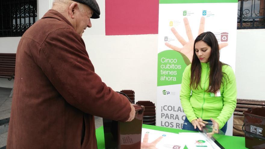 Campaña de recogida de biorresiduos.