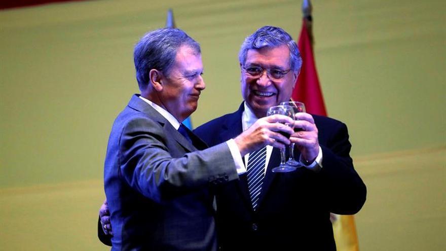 """España conmemora su día en Guatemala destacando las """"magníficas"""" relaciones"""