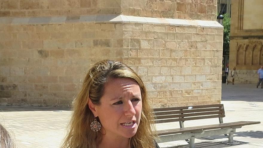 La portavoz del PP de Castelló de la Plana, Begoña Carrasco, en una imagen de archivo.