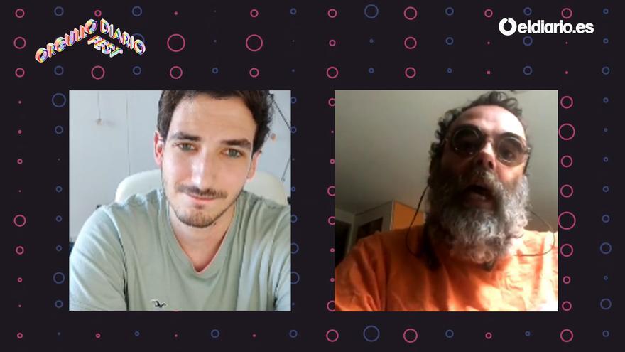 BobPop charla con eldiario.es en el Orgullo Diario Fest.