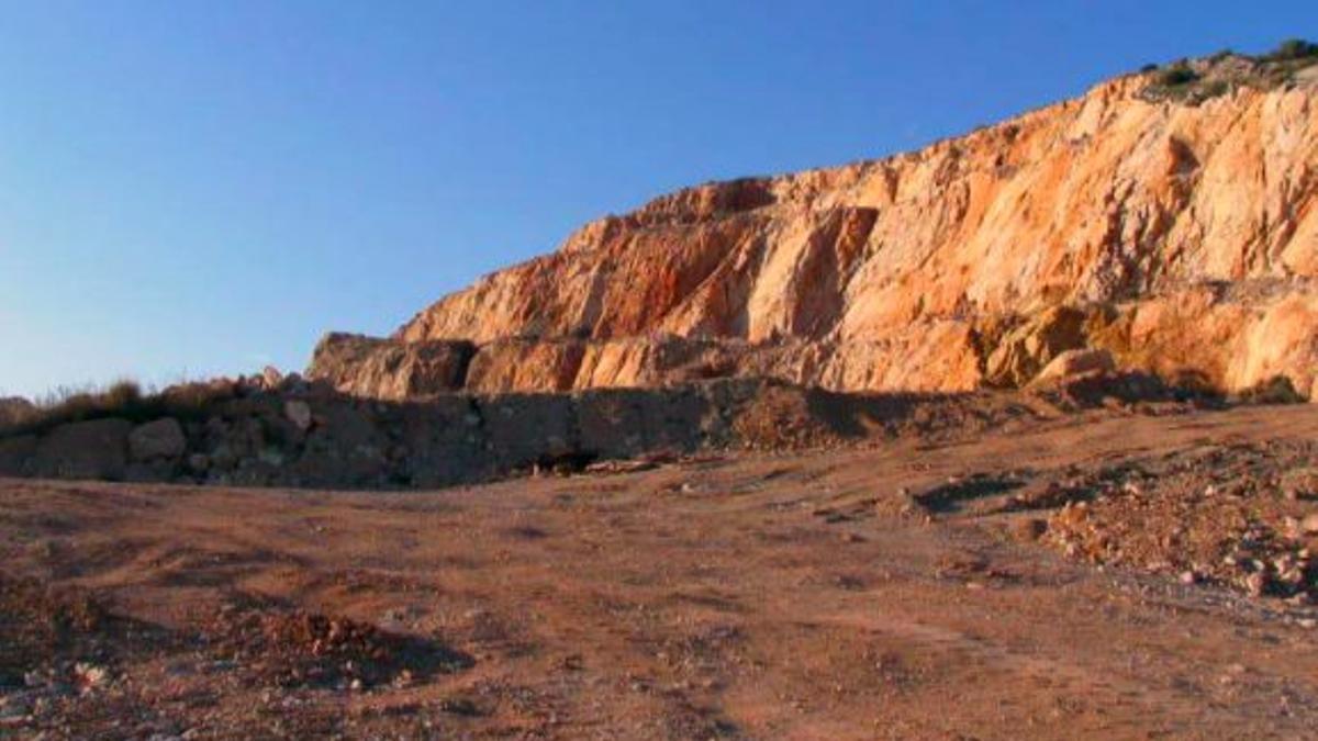 Imatge de la pedrera de Torrent.