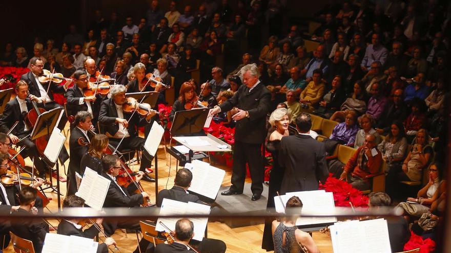 Concierto de la Orquesta Filarmónica de Gran Canaria en el Auditorio Alfredo Kraus.