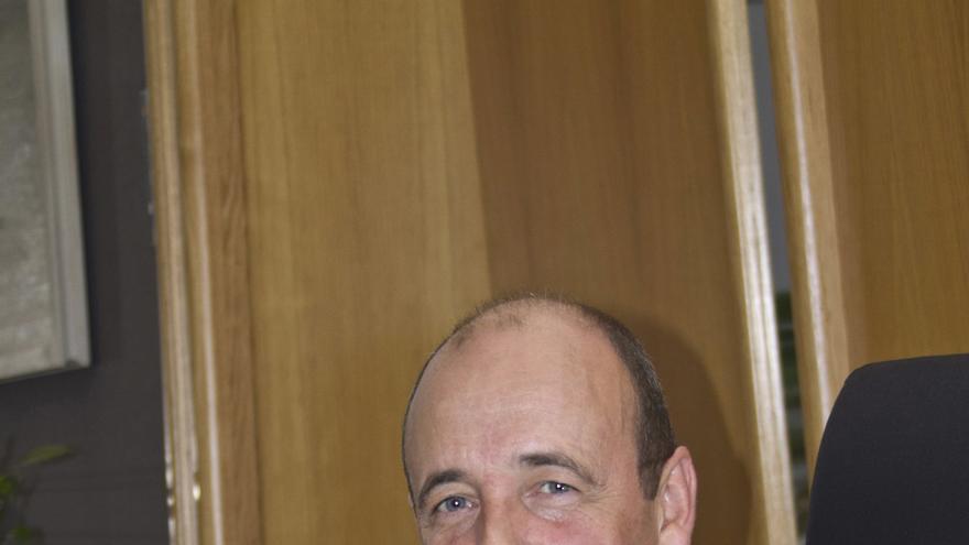El presidente del Colegio Oficial de Médicos de Bizkaia, Cosme Naveda.