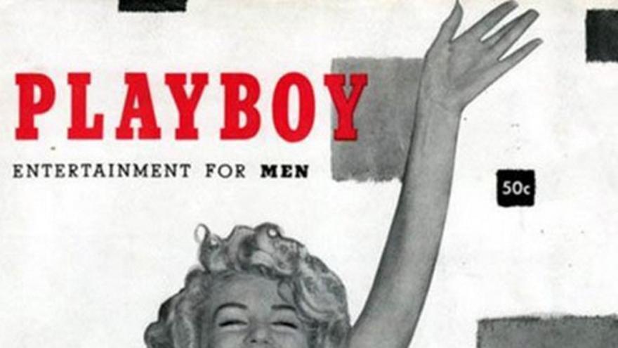 Marilyn en Playboy