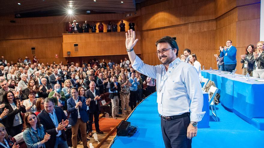 Asier Antona, elegido presidente del Partido Popular en Canarias.