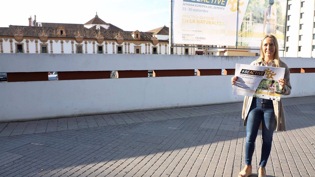 La delegada de Juventud y Deportes de la Diputación, Ana Blasco.