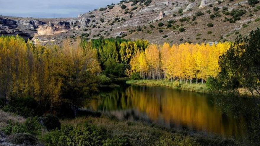 Laguna de Somolinos, en Guadalajara