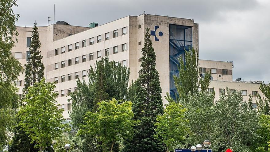 Vista exterior del hospital de Txagorritxu