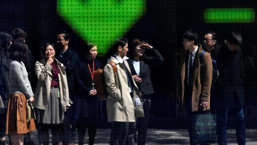 La Bolsa de Tokio cae un 0,53 % en la apertura hasta los 22.845,75 puntos